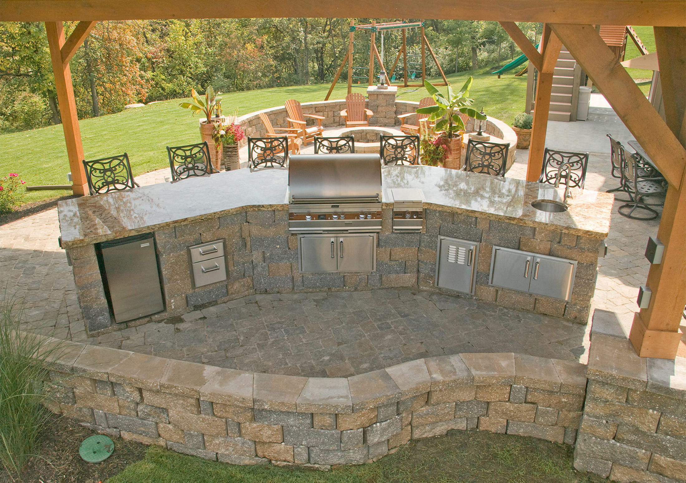hardscape pavers retaining walls paving stones stone solutions
