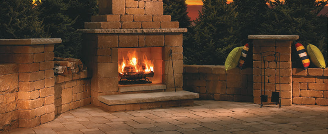Outdoor Fireplaces I Stone Solutions